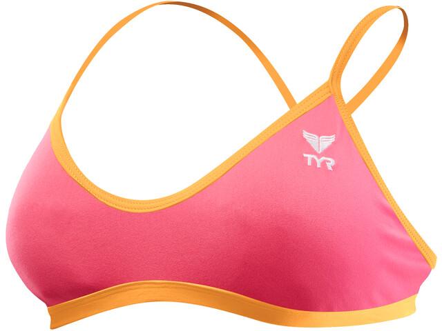 TYR Solid Trinity Bikini Damer pink (2019) | swim_clothes